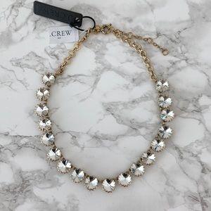 NWT J.CREW Round Stone Necklace